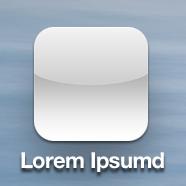Pre iOS7 icon example