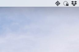 Screenshot of Netlify app in my Mac's menu bar