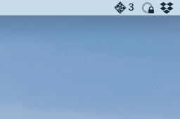 Screenshot of Netlify app in my Mac's menu bar with a notification