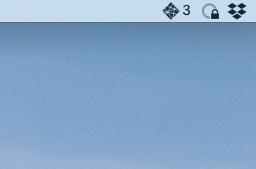 Screenshot of Netlify app in my Mac's menu bar with a notification