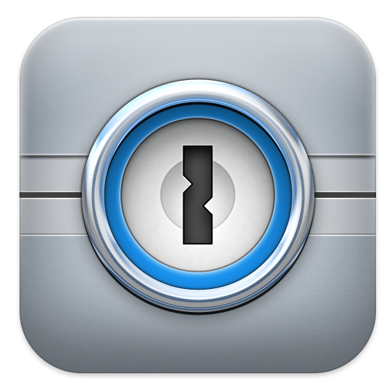 The 1Password iOS icon from 2012.