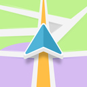 GPS Brasil: Offline navigation app icon