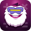 Math Learning with Yeti app icon