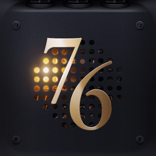 76 Synthesizer app icon