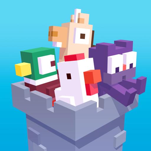 Crossy Road Castle app icon