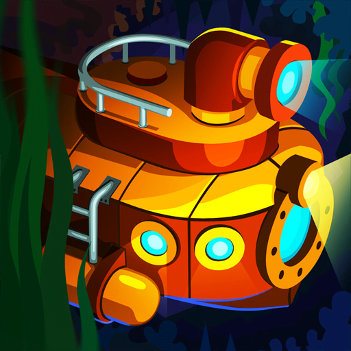 Idle Submarine: Raft to Boat app icon