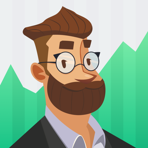 Investmate — learn to trade app icon