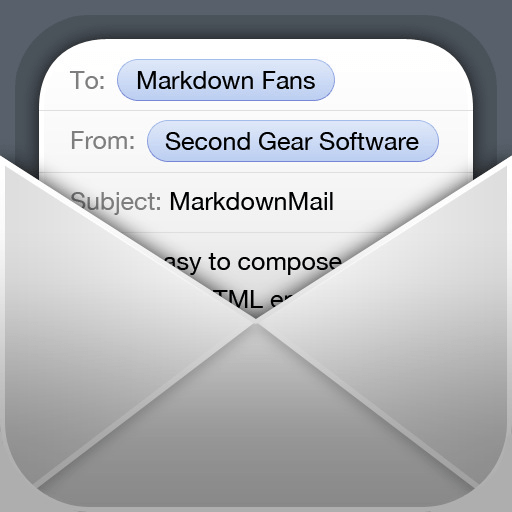 MarkdownMail app icon
