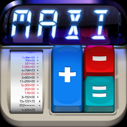 MaxiCalc app icon