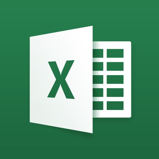 Microsoft Excel for iPad app icon