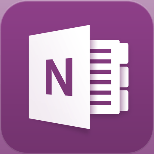 Microsoft OneNote for iPhone app icon