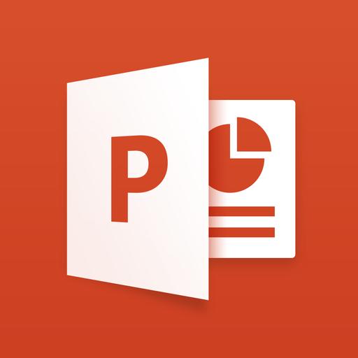 Microsoft PowerPoint for iPad app icon