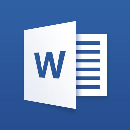 Microsoft Word for iPad app icon