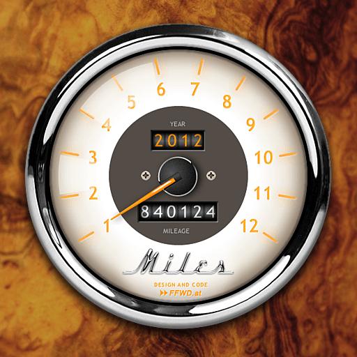 Miles Log app icon