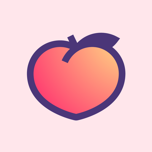 Peach — share vividly app icon