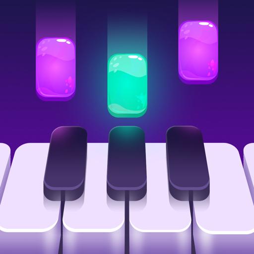 Piano Crush - Keyboard Games app icon