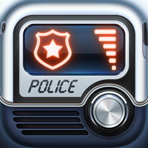 Police Scanner ⁺ app icon