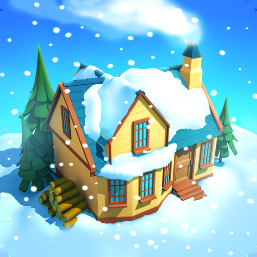 Snow Town - Ice Village World app icon