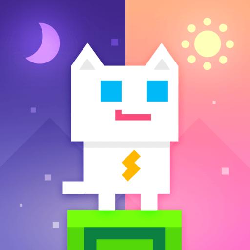 Super Phantom Cat - Be a jumping bro. app icon