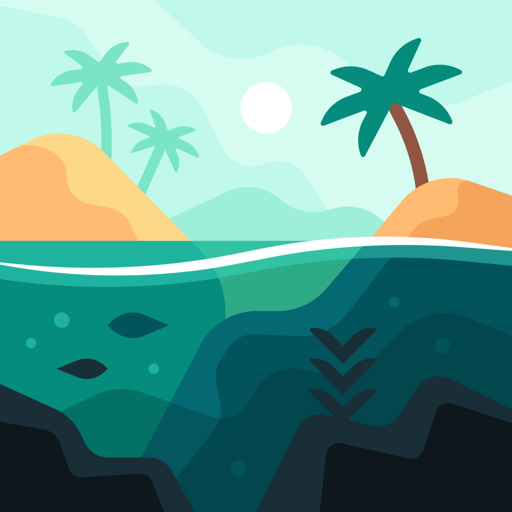 Tides: A Fishing Game app icon