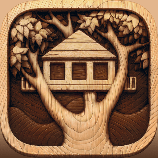 Treehouses of The Pacific Northwest app icon