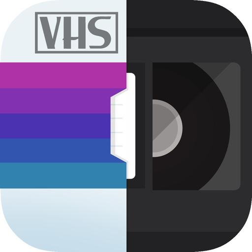 VHS Glitch Camcorder app icon