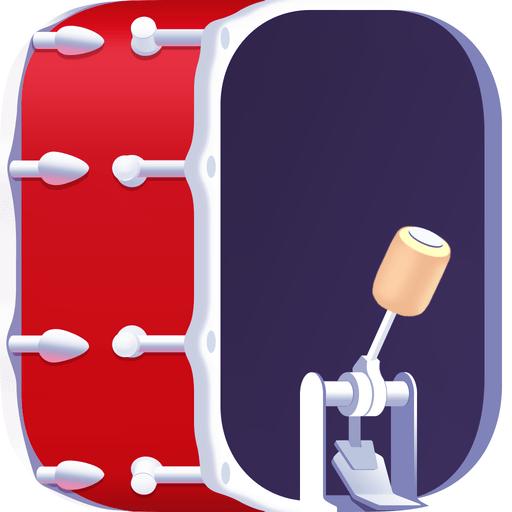 WeDrum - Drums, Drum Pad Games app icon
