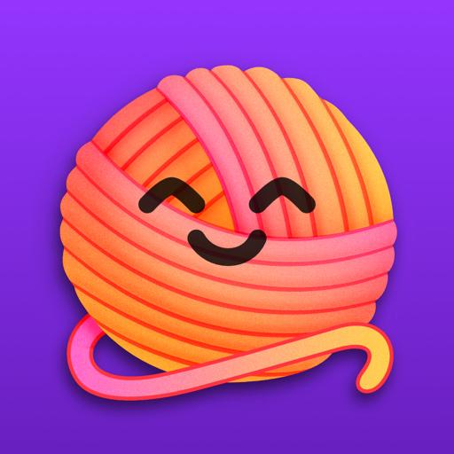 YarnBuddy – Knit and Crochet app icon