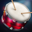 Drums - real drum set games app icon