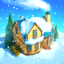Snow Town - Ice Village World app icon