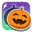 Wee Halloween Puzzles app icon
