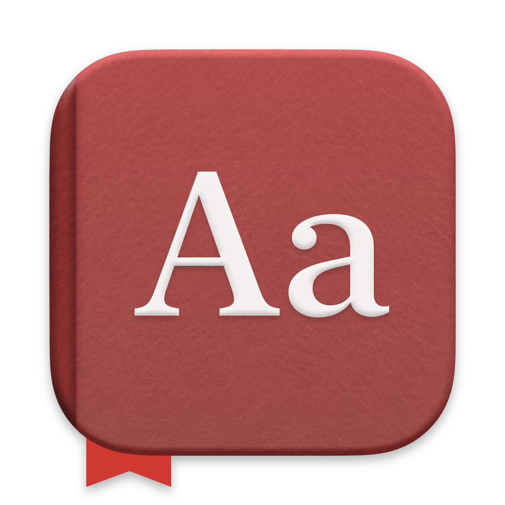 Dictionary app icon