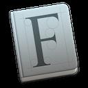 Font Book app icon