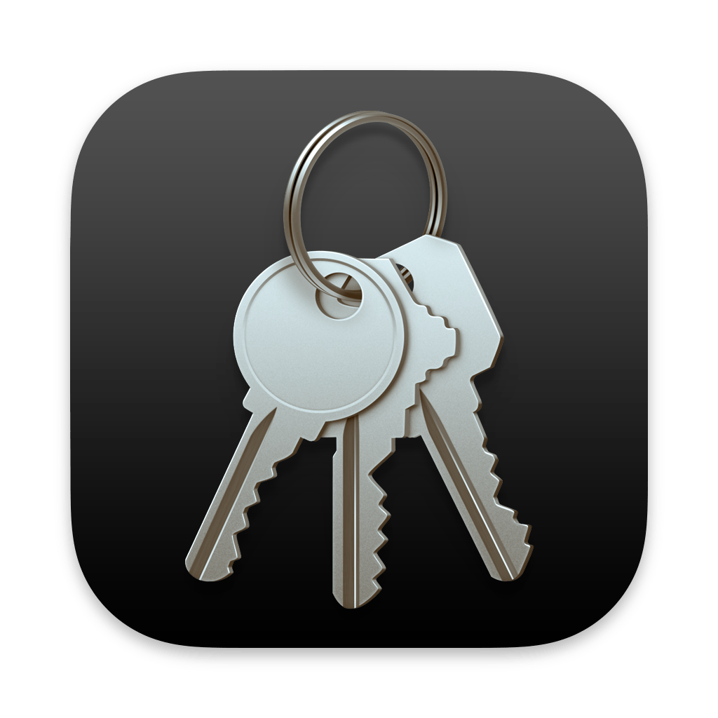 Keychain Access app icon