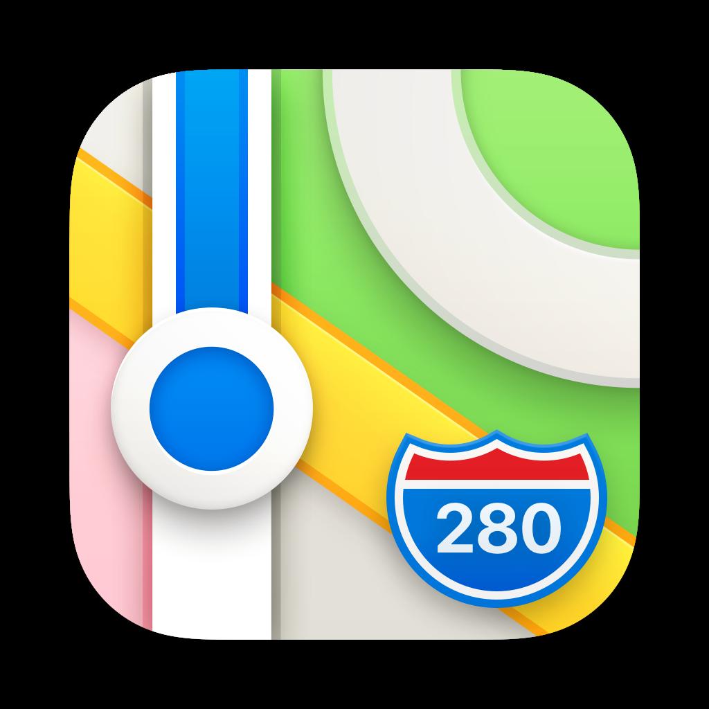 Maps app icon