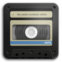 Meta – music tag editor app icon