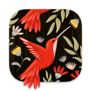 Patterned app icon
