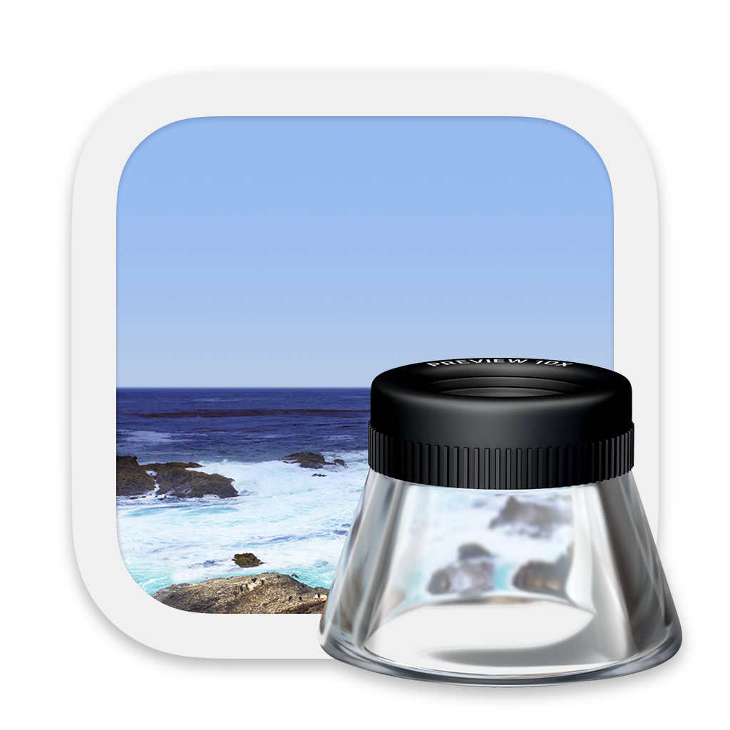 Preview app icon