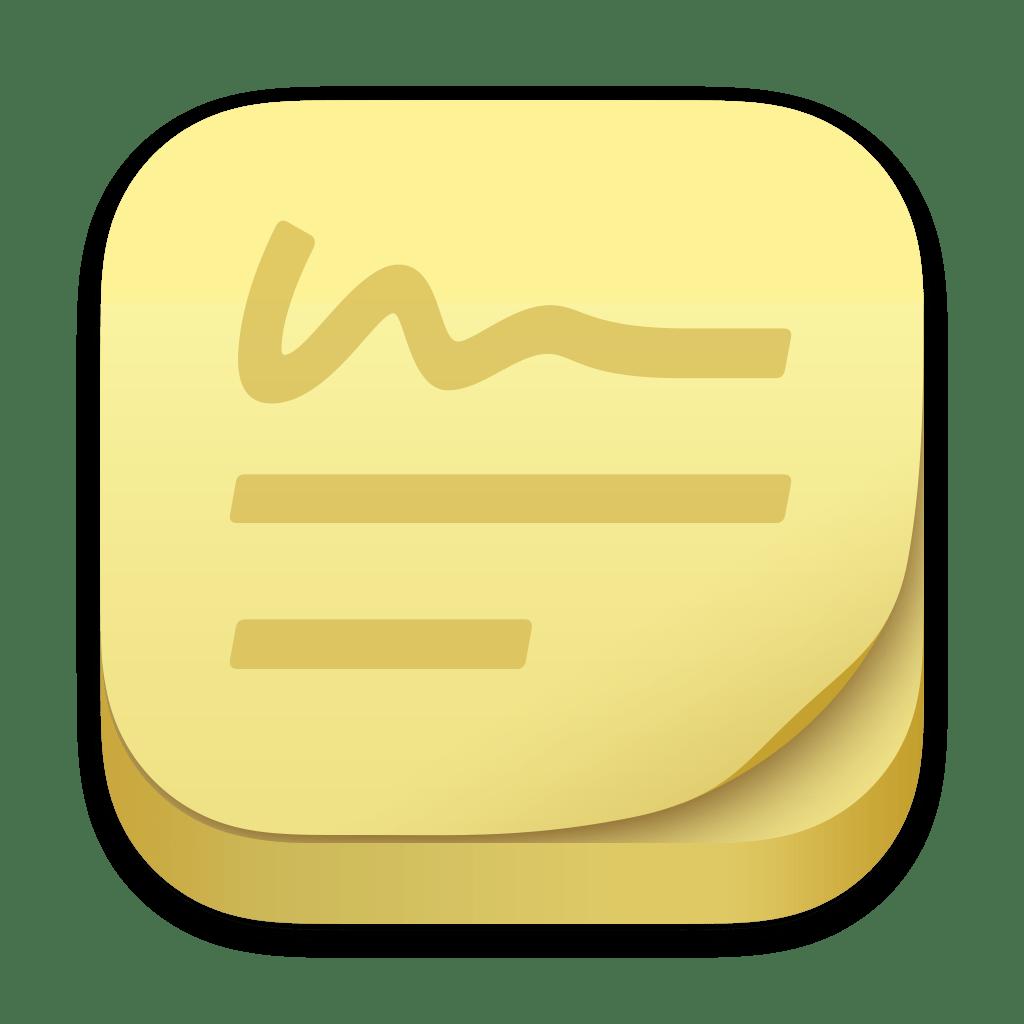 Stickies app icon