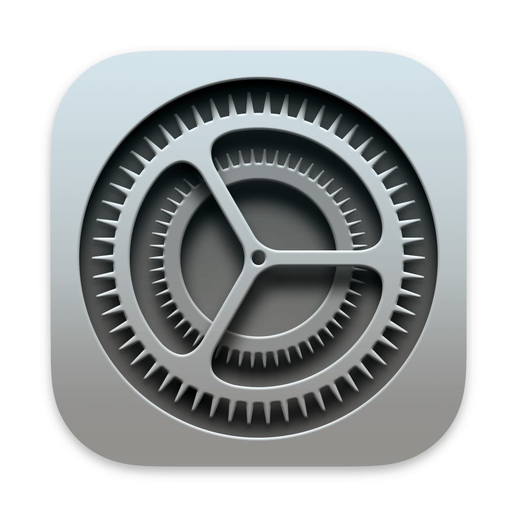 System Preferences app icon
