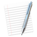 TextEdit app icon