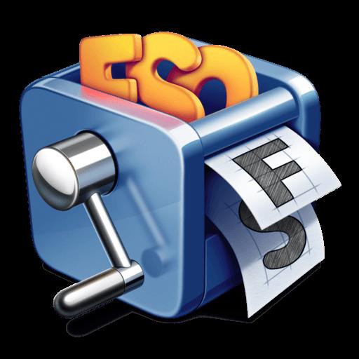 FontSieve app icon