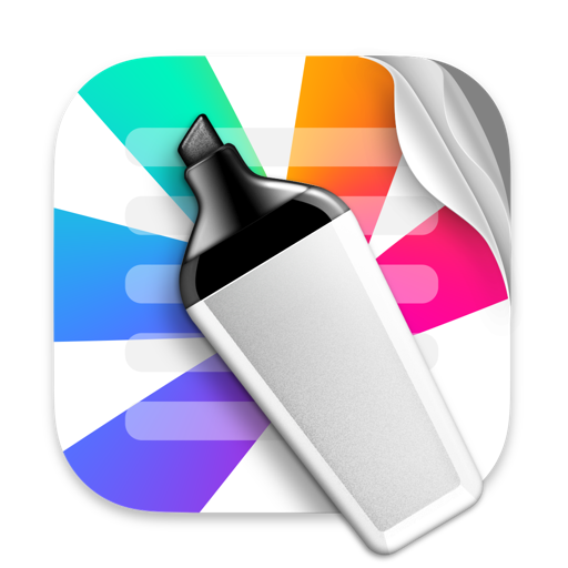 Highlights – Export PDF Notes app icon
