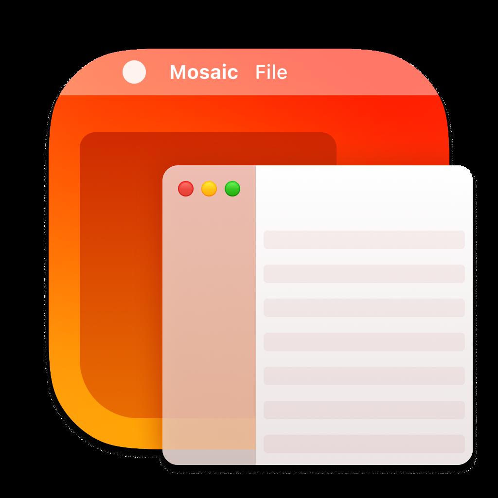 Mosaic app icon