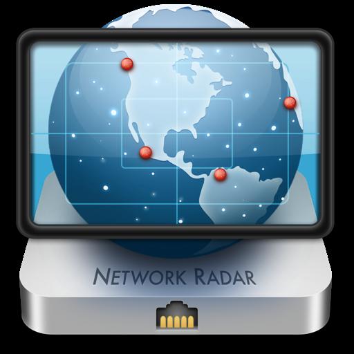 Network Radar app icon
