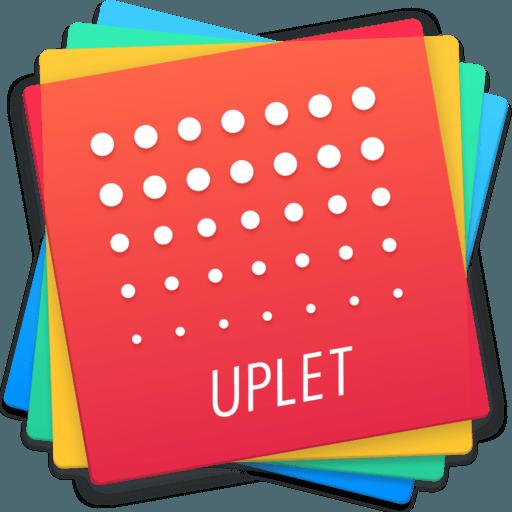 Uplet: bulk instagram uploader app icon