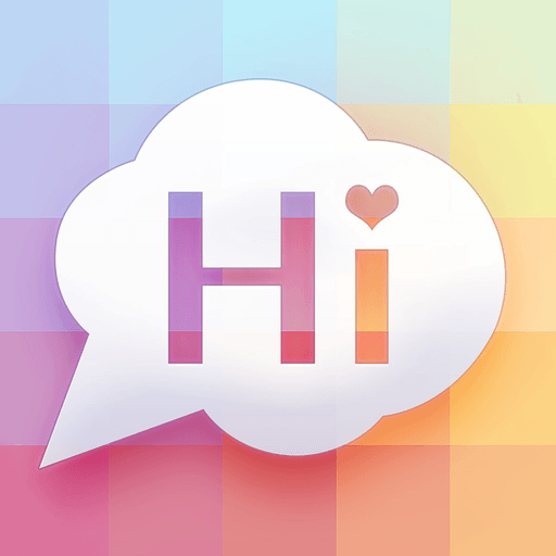 SayHi Chat Messenger - Find People Nearby! app icon